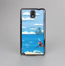 The Cartoon Worm with Machine Gun Irony Skin-Sert Case for the Samsung Galaxy Note 3