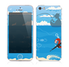 The Cartoon Worm with Machine Gun Irony copy Skin for the Apple iPhone 5s