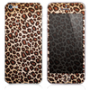 The Cheetah Animal Print V5 Skin for the iPhone 3, 4-4s, 5-5s or 5c