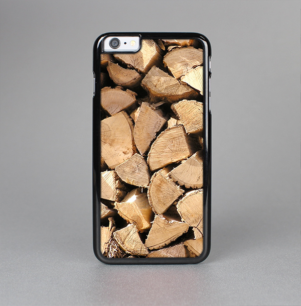The Chopped Wood Logs Skin-Sert Case for the Apple iPhone 6 Plus