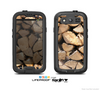 The Chopped Wood Logs Skin For The Samsung Galaxy S3 LifeProof Case