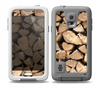 The Chopped Wood Logs Skin for the Samsung Galaxy S5 frē LifeProof Case