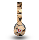 The Chopped Wood Logs Skin for the Beats by Dre Original Solo-Solo HD Headphones