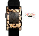 The Chopped Wood Logs Skin for the Pebble SmartWatch