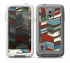 The Choppy 3d Red & Green Zigzag Pattern Skin for the Samsung Galaxy S5 frē LifeProof Case