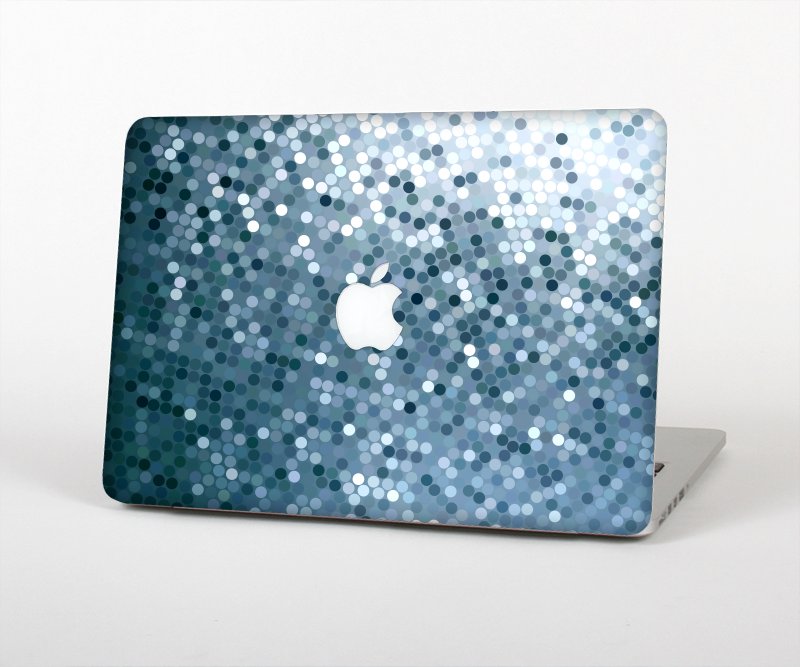 "The Circle Pattern Silver Sequence Skin Set for the Apple MacBook Pro 15"" with Retina Display"