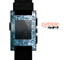 The Circle Pattern Silver Sequence Skin for the Pebble SmartWatch