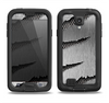 The Clawed Metal Sheet Samsung Galaxy S4 LifeProof Fre Case Skin Set