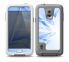 The Clear Blue HD Triangles Skin for the Samsung Galaxy S5 frē LifeProof Case