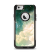 The Cloudy Abstract Green Nebula Apple iPhone 6 Otterbox Commuter Case Skin Set