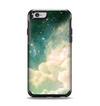 The Cloudy Abstract Green Nebula Apple iPhone 6 Otterbox Symmetry Case Skin Set
