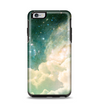 The Cloudy Abstract Green Nebula Apple iPhone 6 Plus Otterbox Symmetry Case Skin Set