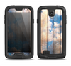 The Cloudy Wood Planks Samsung Galaxy S4 LifeProof Fre Case Skin Set
