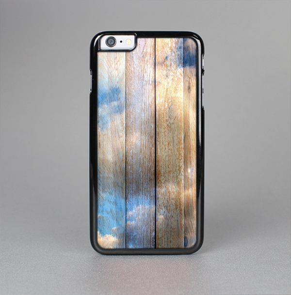 The Cloudy Wood Planks Skin-Sert Case for the Apple iPhone 6 Plus