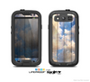 The Cloudy Wood Planks Skin For The Samsung Galaxy S3 LifeProof Case