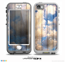 The Cloudy Wood Planks Skin for the iPhone 5-5s NUUD LifeProof Case for the LifeProof Skin