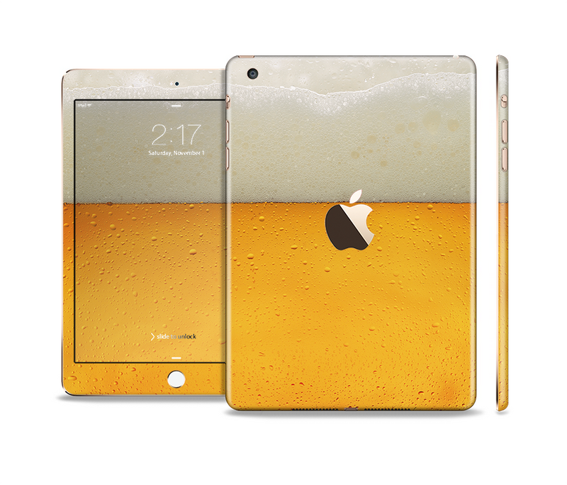 The Cold Beer Full Body Skin Set for the Apple iPad Mini 3