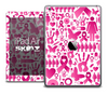 The Collage Pink Cancer Awareness Skin for the iPad Air