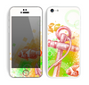 The Color-Red Anchor Under The Sea Skin for the Apple iPhone 5c