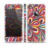 The Color Floral Sprout Skin Set for the Apple iPhone 5