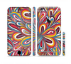 The Color Floral Sprout Sectioned Skin Series for the Apple iPhone 6