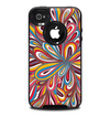 The Color Floral Sprout Skin for the iPhone 4-4s OtterBox Commuter Case
