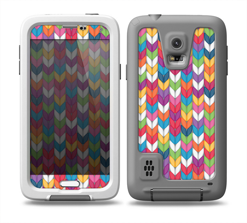 The Color Knitted Skin for the Samsung Galaxy S5 frē LifeProof Case