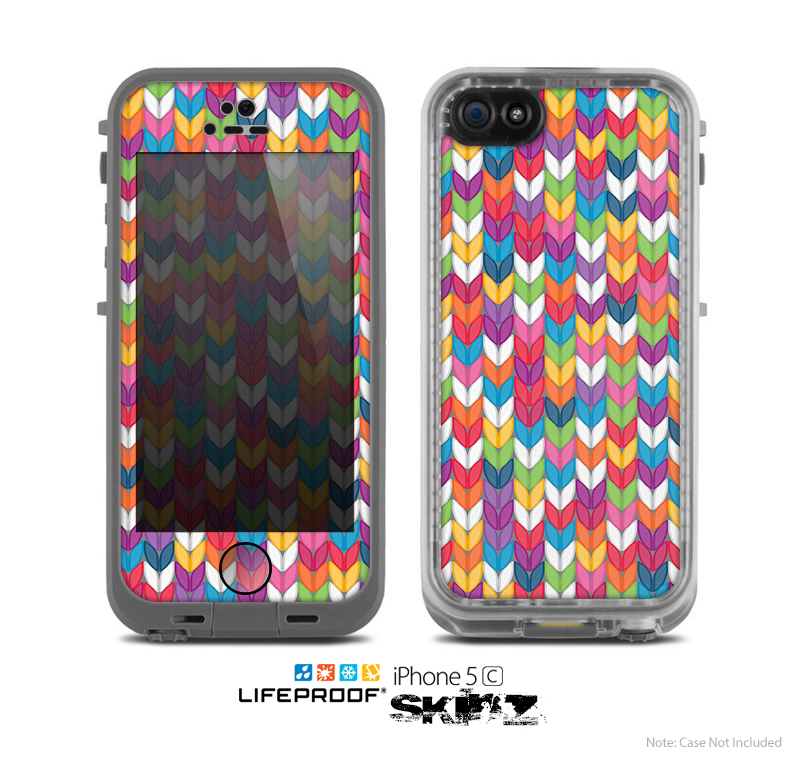 The Color Knitted Skin for the Apple iPhone 5c LifeProof Case