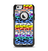 The Color Striped Vector Leopard Print Apple iPhone 6 Otterbox Commuter Case Skin Set