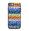 The Color Striped Vector Leopard Print Apple iPhone 6 Otterbox Symmetry Case Skin Set