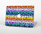"The Color Striped Vector Leopard Print Skin Set for the Apple MacBook Pro 15"" with Retina Display"