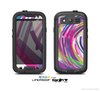 The Color Strokes Skin For The Samsung Galaxy S3 LifeProof Case