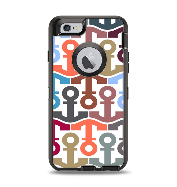 The Color Vector Anchor Collage Apple iPhone 6 Otterbox Defender Case Skin Set