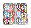 The Color Vector Anchor Collage Sectioned Skin Series for the Apple iPhone 6
