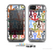The Color Vector Anchor Collage Skin for the Apple iPhone 5c LifeProof Case