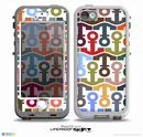 The Color Vector Anchor Collage Skin for the iPhone 5-5s NUUD LifeProof Case for the LifeProof Skin