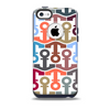 The Color Vector Anchor Collage Skin for the iPhone 5c OtterBox Commuter Case