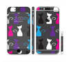 The Color Vector Cat Collage Sectioned Skin Series for the Apple iPhone 6 Plus