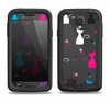 The Color Vector Cats Samsung Galaxy S4 LifeProof Fre Case Skin Set