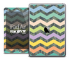 The Colored Chevron and Digital Camouflage Skin for the iPad Air