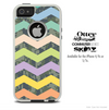 The Colored Digital Camo and Chevron Skin For The iPhone 4-4s or 5-5s Otterbox Commuter Case