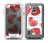 The Colored Red Doodle-Hearts Skin Samsung Galaxy S5 frē LifeProof Case