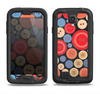 The Colored Vector Buttons Samsung Galaxy S4 LifeProof Fre Case Skin Set