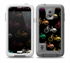The Colored Vintage Bike Pattern On Black Skin for the Samsung Galaxy S5 frē LifeProof Case