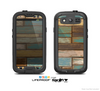 The Colored Vintage Solid Wood Planks Skin For The Samsung Galaxy S3 LifeProof Case