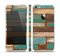 The Colored Vintage Solid Wood Planks Skin Set for the Apple iPhone 5