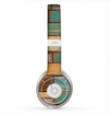 The Colored Vintage Solid Wood Planks Skin for the Beats by Dre Solo 2 Headphones