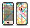 The Colorful Abstract Plaid Intersect Apple iPhone 6/6s LifeProof Fre Case Skin Set