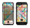 The Colorful Abstract Plaid Intersect Apple iPhone 6/6s LifeProof Fre POWER Case Skin Set