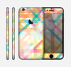 The Colorful Abstract Plaid Intersect Skin for the Apple iPhone 6